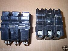 FPE FEDERAL PACIFIC BREAKER 20 AMP 3 POLE NB NB320 BOLT ON chipped