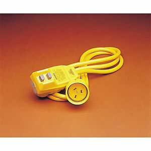 HPM Heavy Duty Portable Safety Switch Plug Inbuilt RCD 30 Millisecond Trip Time