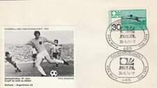 Voetbal envelop: WK Duitsland 1974 / Nederland - Argentinië (voet031)