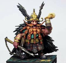 1/32 Resin Figure Model Kit Fairytale Characters Warrior Gnome Dwarf Unpainted