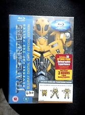 TRANSFORMERS REVENGE OF THE FALLEN ; rare BUMBLEBEE Blu-Ray Box Set , New & Seal