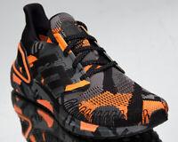 adidas Ultraboost 20 Men's Black Orange Athletic Running Jogging Shoes Sneakers