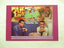 Drip Coffee Bar New York NY Advertising Continental Postcard