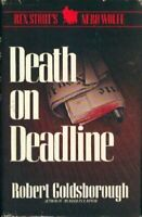 Death on Deadline: A Nero Wolfe Mystery Goldsborough, Robert Hardcover Collecti