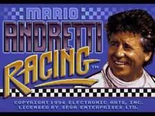 Mario Andretti Racing - Sega Genesis Game Complete
