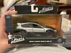 Jada Fast and Furious Brians Subaru Impreza WRX Sti Silver Black