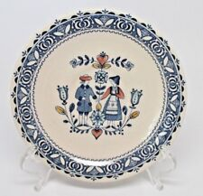 Johnson Brothers Old Granite Hearts & Flowers Saucer(s) Blue Mark