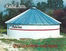 Farm Equipment Brochure - Radial Arm - Self Cleaning Hog Pig Barn  (F5188)