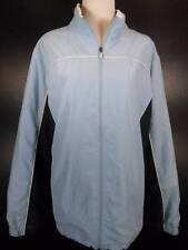 Warm Women's 3X 3XL St. John's Bay SJB Active Blue Mesh Lined Windbreaker Jacket