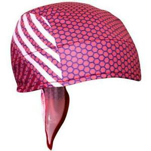 Headsweats Super Duty Shorty Cycling Cap One Size Red Honeycomb Repreve