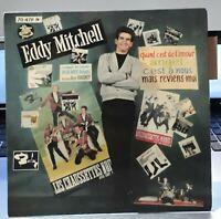 "EDDY MITCHELL "" Mais reviens-moi "" Rare 7"" EP BARCLAY 70479 - Languette EX / EX"