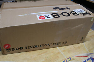 Bob  Revolution Flex 3.0 Stroller in Graphite Black. Brand New.