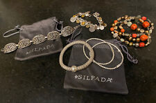 & Beaded Jewelry - Great! Lot Of Silpada Sterling Silver Bracelets