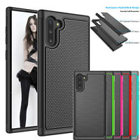 For Samsung Galaxy Note 10 + Shockproof Case Hybrid Rubber Hard Protective Cover