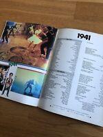 1941 Film RARE Japanese Movie PROGRAMME  SPIELBERG John BELUSHI Dan AYKROYD 1979