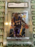 2013-14 Panini Prizm Kobe Bryant LA Lakers Graded Gma Mint 9 Psa Bgs Sgc Invest