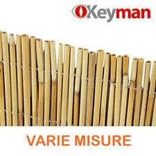 Arelle arella in canniccio di bamboo canne recinzione cannizzo Ø 4-5 mm Keyman