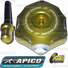 Apico Gold Alloy Fuel Cap Breather Pipe For Suzuki RM 85 2005 Motocross Enduro