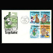 Disney Fdc Togo, 1980 Enviroment, Disney Characters, To250