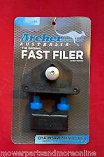 "Genuine Fast Filer 7/32"" Chainsaw Chain shapening guide Suits 3/8 Saw Chain"