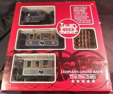 "LGB ""THE BIG TRAIN"" TRAIN  SET #22013 IN THE BOX LAKE GEORGE & BOULDER"