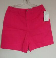 Basic Editions Ladies Shorts Size 12 Pink NWT