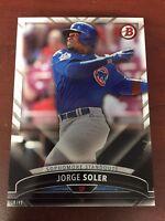 2016 Bowman Baseball Sophmore Standouts 5x7 18/49 SS-6 Jorge Soler Cubs