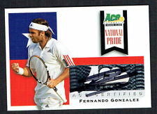 Fernando Gonzalez NP-FG1 signed autograph auto 2013 Ace Authentic National Pride