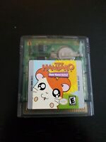 Hamtaro Nintendo Gameboy Color GBC Cleaned Tested Authentic Game Boy