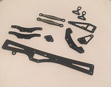 Schumacher Cougar KR Front & Rear Carbon Fiber Link Mount Set w/Ball Studs U4391