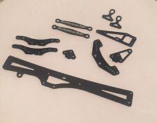 Schumacher Cougar KR Front & Rear Carbon Fiber Link Mount Set w/Ball Studs U4391