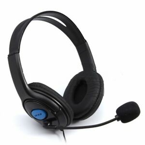 Wired Gaming Headset Headphones with Mic for PS4 PS3 Playstation 4 Xbox One PC