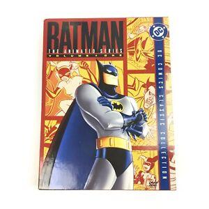 BATMAN The Animated Series Volume 1 DC Comics Classic Collection DVD Box R1