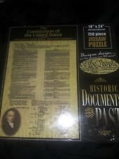 DAVE JOSWICK 750 PIECE JIGSAW PUZZLE The Constitution of the US Sealed NEW