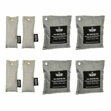 8 Pack Activated Air Purifying Charcoal Deodorizer Bag Odors Home & Personal Use