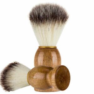 New Men Shaving Bear Brush Best Hair Shave Wood Handle Razor Barber Tool