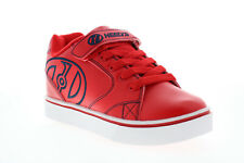 Heelys Vopel X2 HE100327K Big Kids Red Lace Up Lifestyle Sneakers Shoes 4