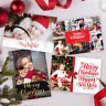Personalised Pack of Christmas Cards With Photo + Envelopes, Instant proof