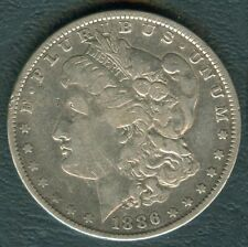 1886 US MORGAN LIBERTY 1 Dollar Silver United States of America Coin  #2