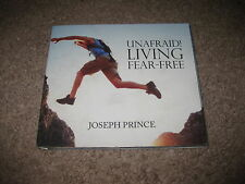 Unafraid Living Fear-Free Audio 2 CD Book Joseph Prince Great Condition