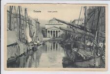 AK Trieste, Triest, Canal grande, 1920