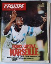 L'Equipe Magazine 18/05/1991; Marseille/ América's cup/ Entretien JL Rougé