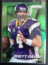 Brett Favre 2014 Prizm Green Prizm Refractor #17 Minnesota Vikings Packers HOF