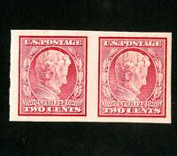 US Stamps # 368 Superb OG NH Choice Pair