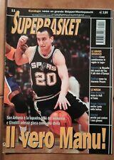 Superbasket anno 2003 n. 11 - Manu GINOBILI - SAN ANTONIO SPURS - NBA
