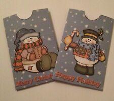 Christmas Gift Card Wallet/ Envelope