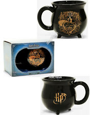 Harry Potter Black Cauldron Coffee Mug 12 oz. Ceramic Amortentia LOVE Potion NIB