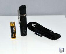 Fenix LD09 LED Pocket Flashlight w/ AA battery & holster ~ 220 LUMENS!