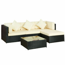Sets de muebles de jardín de color principal negro acero