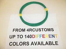 GREEN AUTOMOTIVE  WIRE 18 GAUGE HIGH TEMP GXL  25 FEET +  STRIPED AVAILABLE